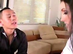 Asian, Couple, Couple enjoying sex in their bedroom