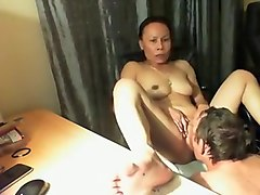 Asian, Husband, Wife, Wife and her girlfriend