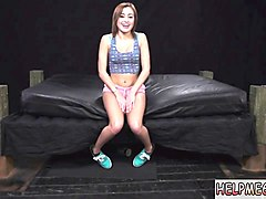 Black, Femdom, Slave, Mistresses lana and julia torture his body