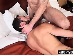 Hairy, Creampie, Threesome, Black hairy creampie