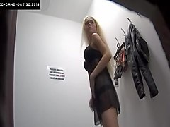 Amateur, Hidden, Solarium voyeur with hidden cam in tanning room