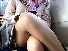 Upskirt, Hidden, Train, Indian hidden cam video