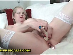 Anal, Granny anal riding german