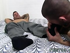 Surprise, Feet slave girl licking male feet