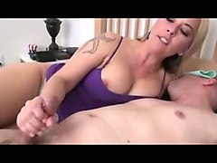 Wife, Masturbation, Jerking, Wife brings white girl for her husband