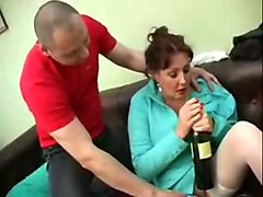 Wife, German, Angry wife cuckolds hubby free str