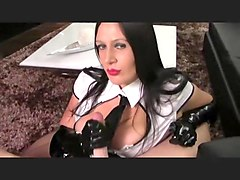 Gloves, Secretary, Plastic pvc