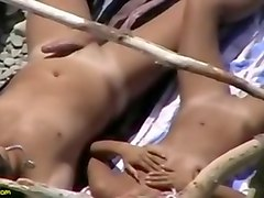 Couple, Beach, Voyeur, Shaking legs orgasm couples hd