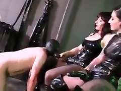 Latex, Strapon, Electro latex sissy