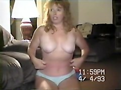 Amateur, Hairy old mature solo