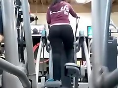 Latina, Ass, Milf, Big ass gym