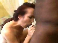 Wife, White mom gets fucked by her black stepson