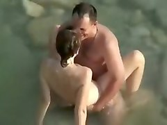 Public, Couple, Beach, Pov orgasm couple