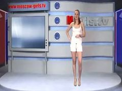 Russian, Strip game on tv