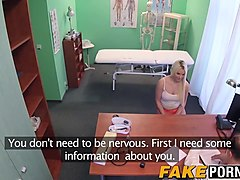 Blonde, Doctor, Office, At the doctors - pt.5