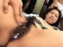 Asian, Ass, Caught, Asian mother and daughter creampie