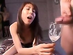 Anal, Rough, Horny japanese girl fucks for money
