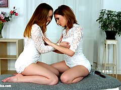 Lesbian, Girlfriend, Shy, Indian shy girlon cam
