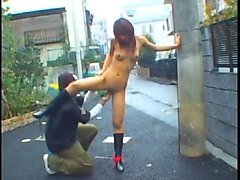 Japanese mom son outdoor love story