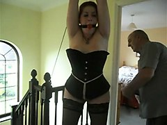 Slave, Tied, Dirty mature slave