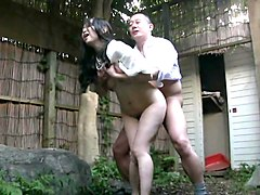Japanese outdoor masturbation