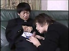 Orgasm, Uncensored japanese mom and son