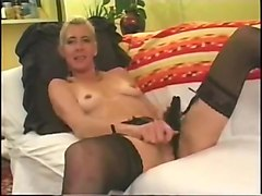 Anal, Blonde, Granny anal cuckold