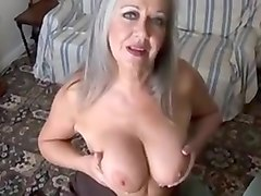Mature solo stripping