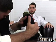 Massage, Slave, Ass, Office foot slave