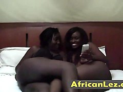 African, Lesbian, Face sitting in toilet