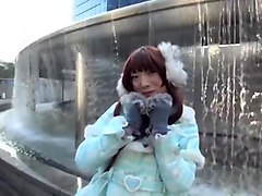 Crossdresser, Dress, Japanese outdoor hidden camera