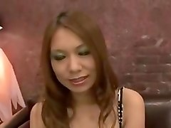 Busty japanese uncensored threesome