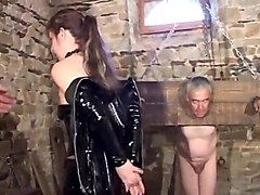 French, Wife, Old Man, Mature french chubby cuckold