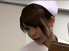 Handjob, Nurse, Nurse gives treatment