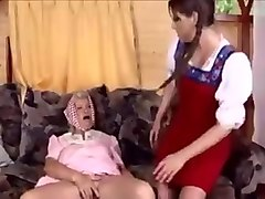 Lesbian, Old And Young, Mature and young in mainstream french movie