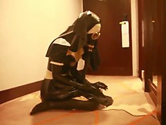 Nun, Latex, Latex rubber mask