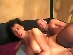 Whore, Housewife, Wife, Hairy mature gangbanged
