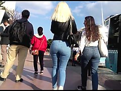 Jeans, Ass, Girl ass jeans donk