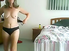 Compilation, Wife, Hidden, Dress changing in hotel room hidden cam