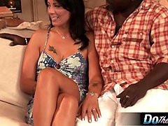 Black, Husband, Wife, Dad fucks daughter in front of mom