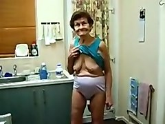 Amateur, Granny, Big ass solo
