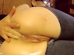 Anal, Jeans, Ass, Deepthroat und anal ass to mouth lesson pt5