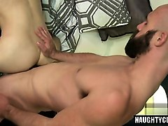Big cock friend handjob