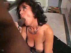 Anal, Mature Anal, Mature anal with black
