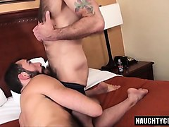 Hairy, Creampie, Threesome, Hairy creampie on bed