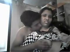 Indian, Couple, Webcam couple caught