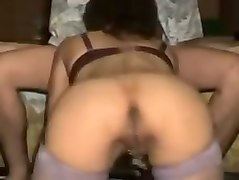 Milf, Train, Amature drunk threesome