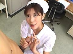 Asian, Small Cock, Nurse, Nurse sounding