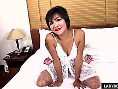 Ladyboy, Ass, Thai, Fuck his ass