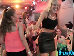 Blowjob, Cfnm, Teen, Party girls cfnm